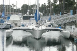 Corsair 31 Trimaran with Custom Touches and Trailer