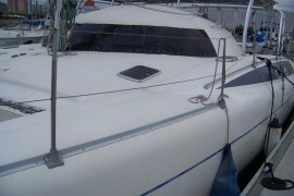 Recently Refit Fountaine Pajot Fidji 39 Catamaran