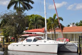 Galley Up Privilege 46 Catamaran Awaits You in Caribbean
