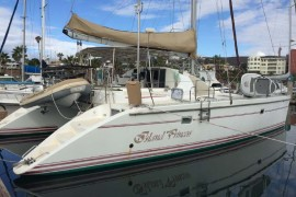 Lagoon 42 TPI Cruising Catamaran is Cruise Ready