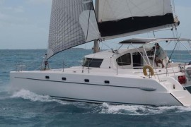 Newly Repowered FP Belize 43 Catamaran