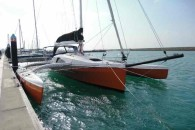 corsair-37-trimaran-dockside