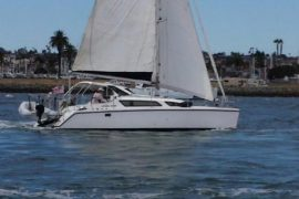 Clean, Well Kept Gemini 105M Catamaran