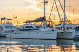 Stunningly Appointed Perry Prestige 43 Catamaran