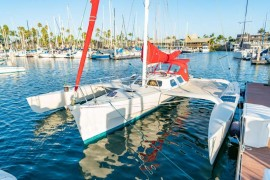 Sporty Chris White Hammerhead 34 Trimaran
